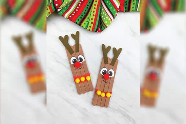 reindeer popsicle stick craft-image