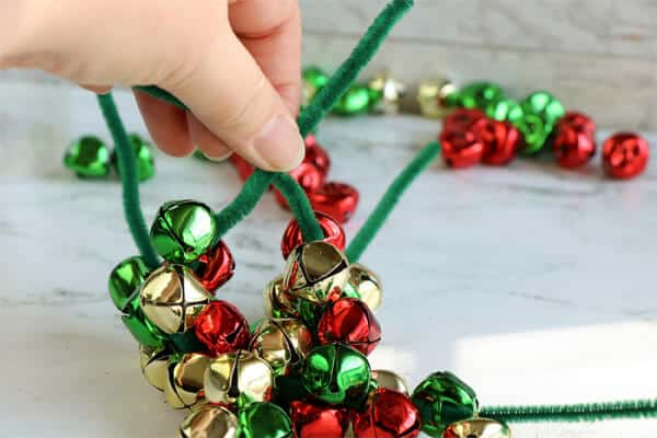 ribbon jingle bells craft