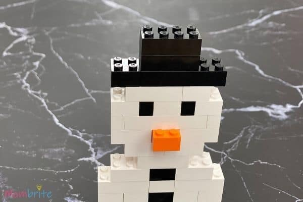 LEGO Snowman Steps (11)