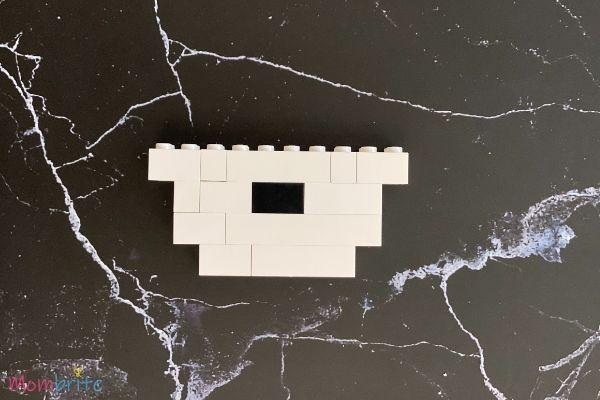 LEGO Snowman Steps (2)