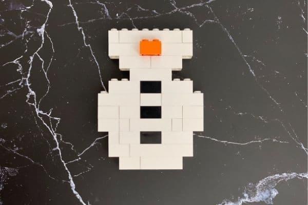 LEGO Snowman Steps (7)