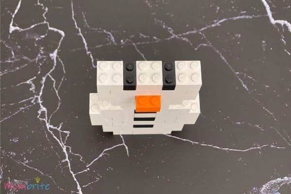 LEGO Snowman Steps (8)