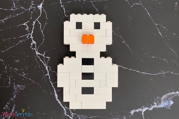 LEGO Snowman Steps (9)