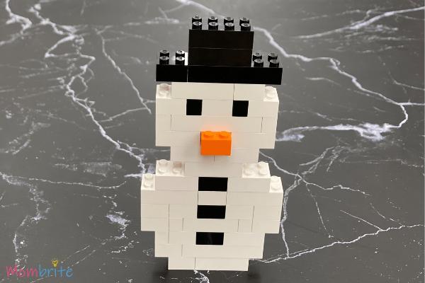 LEGO Snowman Steps