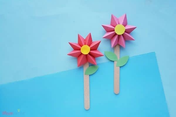 Paper Flower Craft Finished (1)