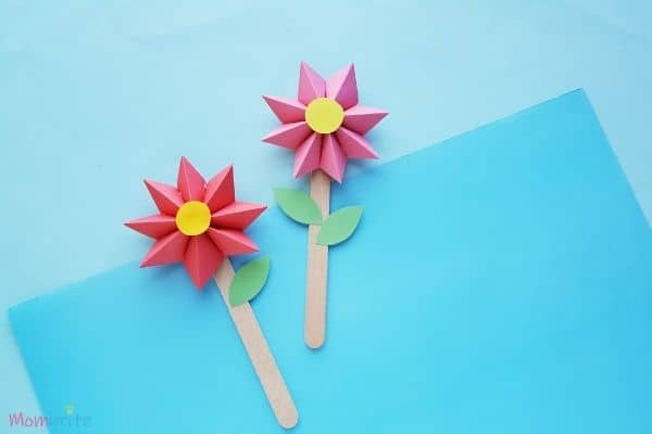 Paper-Flower-Craft-Finished