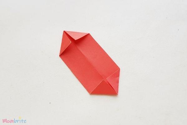 Paper Flower Craft Fold Corners