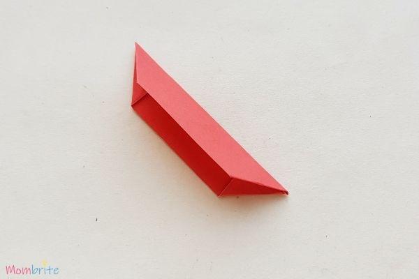 Paper Flower Craft Fold Half