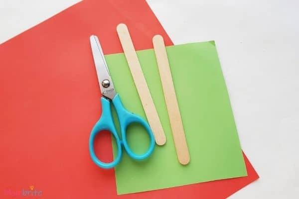 Paper Flower Craft Materials