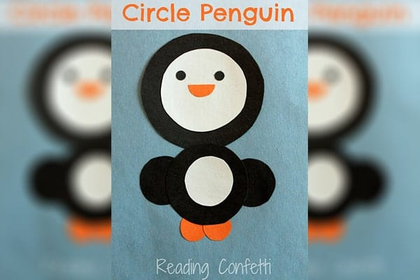 Paper cuting Circle penguin-min