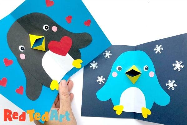 Pop-Up-Penguin-Card