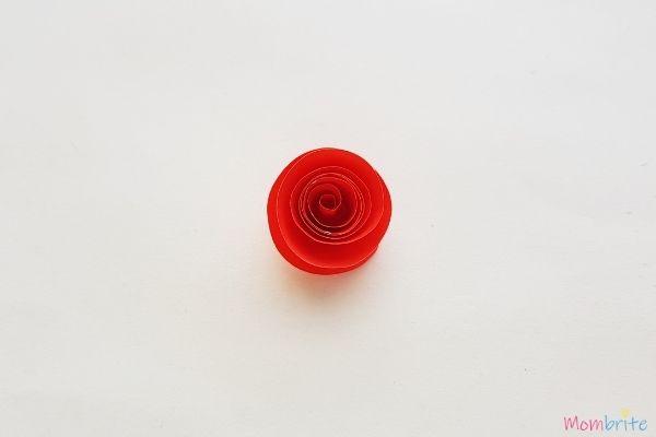 Spiral Pattern Paper Rose 5