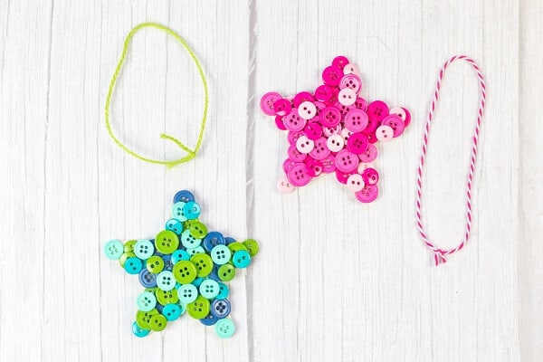 DIY star ornament craft