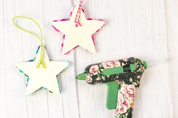 DIY Button Star Ornament