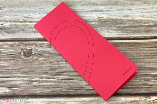 Valentine Heart Suncatcher Craft (1)