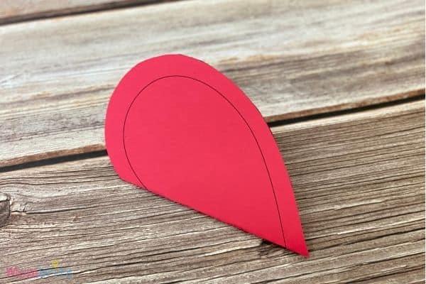 Valentine Heart Suncatcher Craft (2)