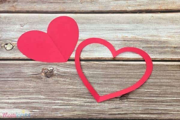 Valentine Heart Suncatcher Craft (4)