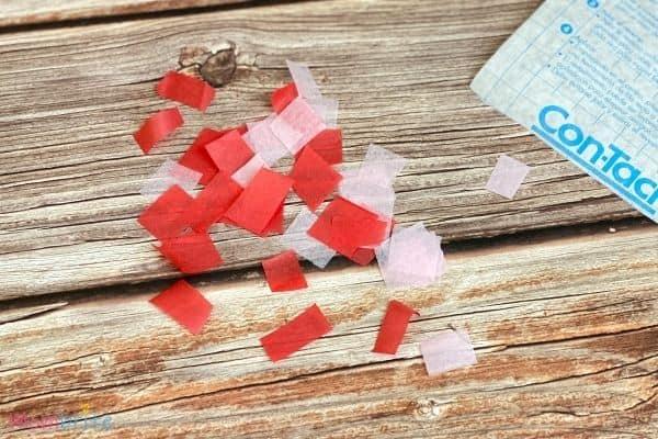 Valentine Heart Suncatcher Craft (5)