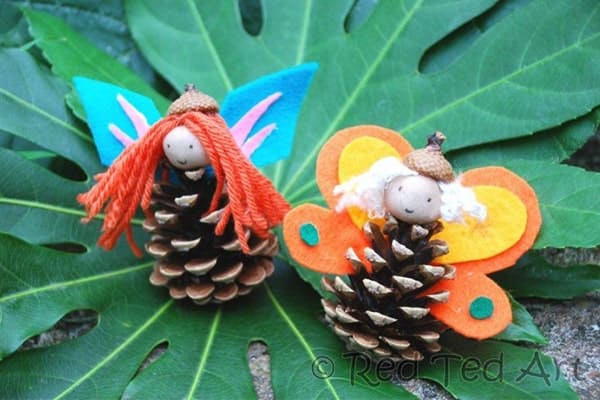 paper cuting used for pinecone butterfly-min