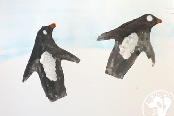 penguin-water-colors