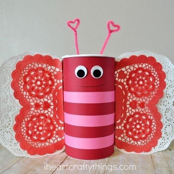 Butterfly Valentine Box