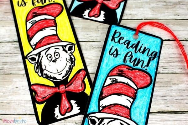Cat in the Hat Bookmark Featured Image