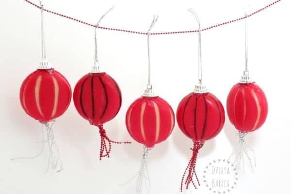 Cheese Lanterns Craft