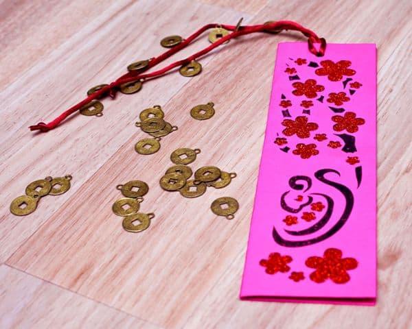 Chinese Book Mark Craft