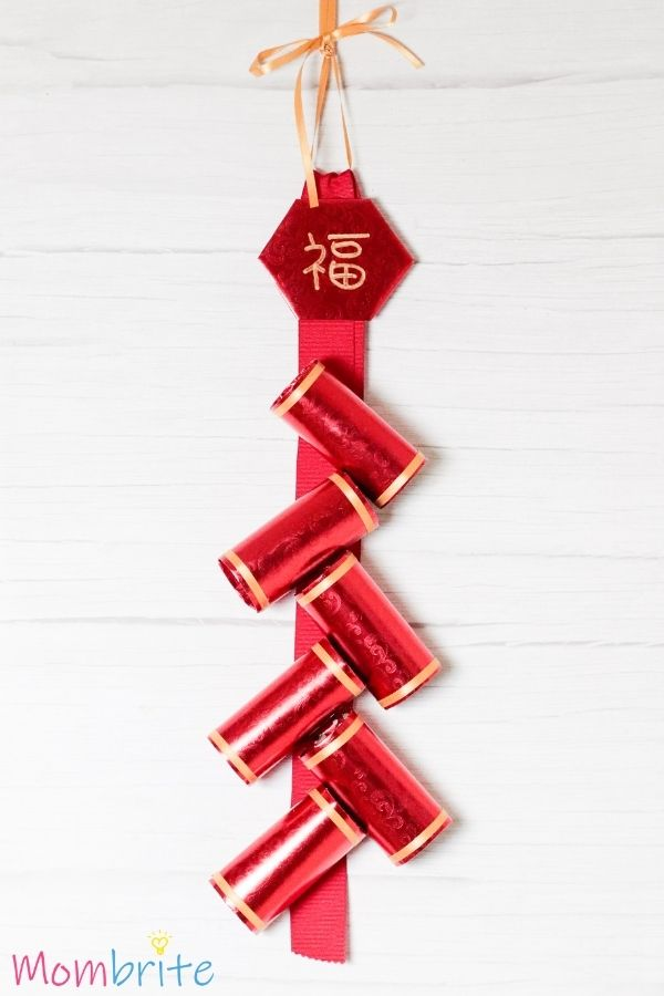 Chinese New Year Firecracker Craft (1)