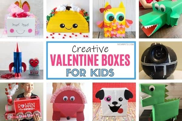 Creative Valentine Boxes for Kids