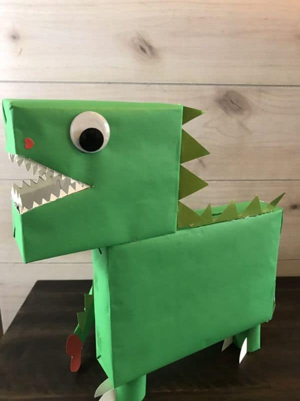 Dinosaur Valentines Box