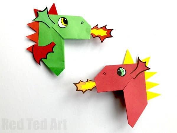 Dragon Corner Bookmarks