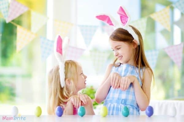 Easter Minute to Win it Games Upright Eggs