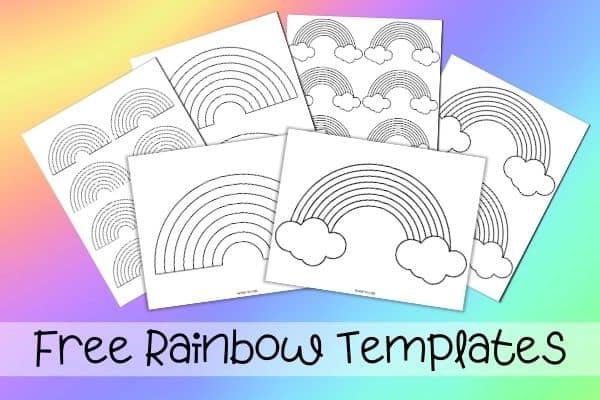 Free Rainbow Templates