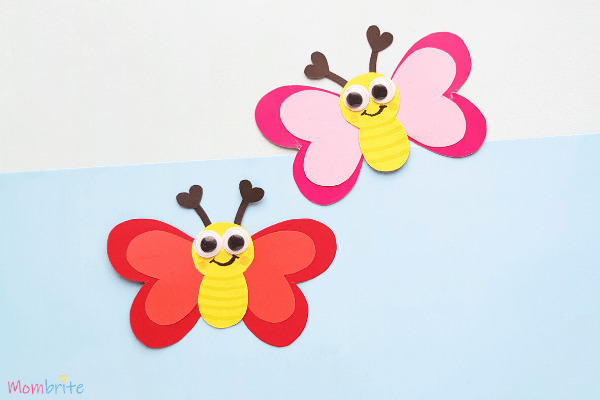 Heart Butterfly Craft