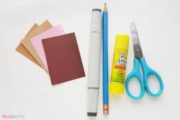 Hedgehog Craft Materials