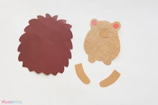 Hedgehog Craft Step 3