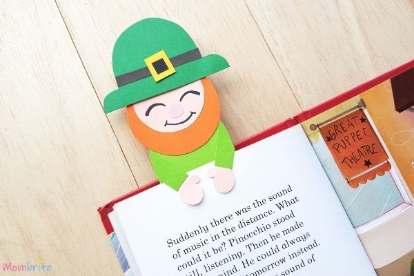 Leprechaun Bookmark Craft