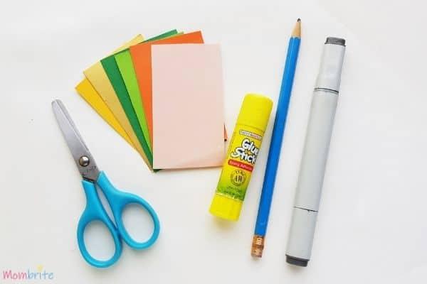 Leprechaun Bookmark Supplies