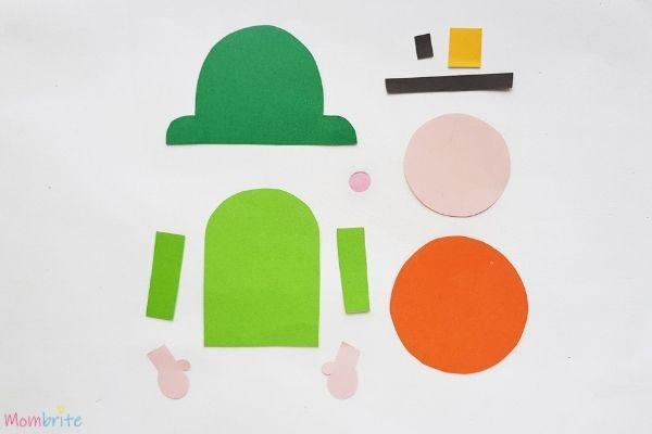 Leprechaun Bookmark Template Patterns