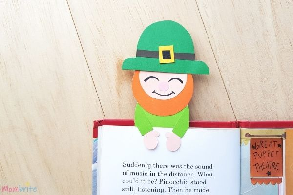 Leprechaun Bookmark