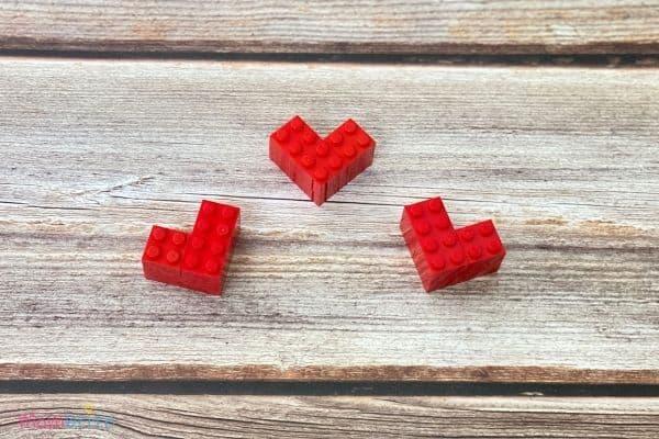 Mini LEGO Hearts