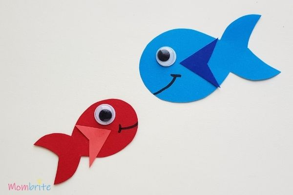 One Fish Two Fish Red Fish Blue Fish Repeat with Red Fish
