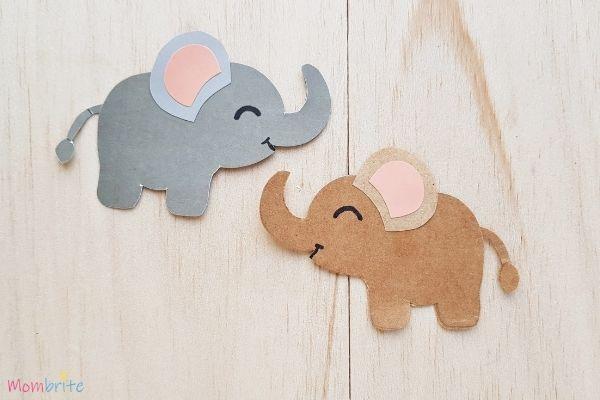 Paper Elephant Craft (1)