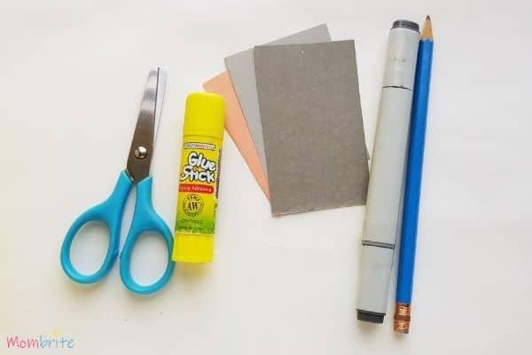 Paper Elephant Craft Materials