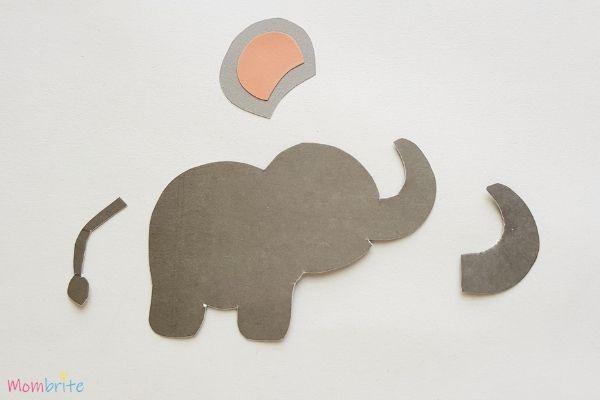 Paper Elephant Craft Step 3