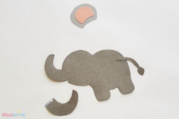 Paper Elephant Craft Step 4
