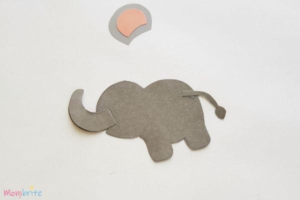 Paper Elephant Craft Step 5