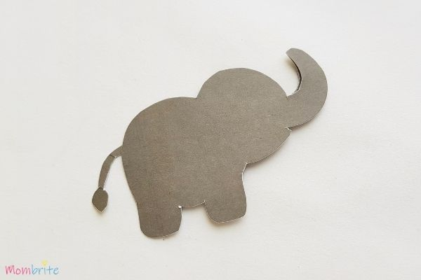 Paper Elephant Craft Step 6