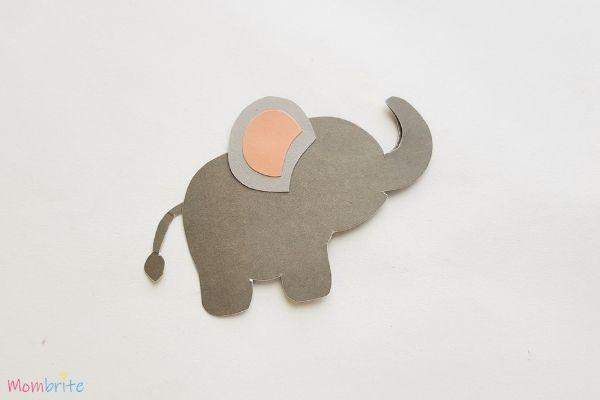 Paper Elephant Craft Step 7